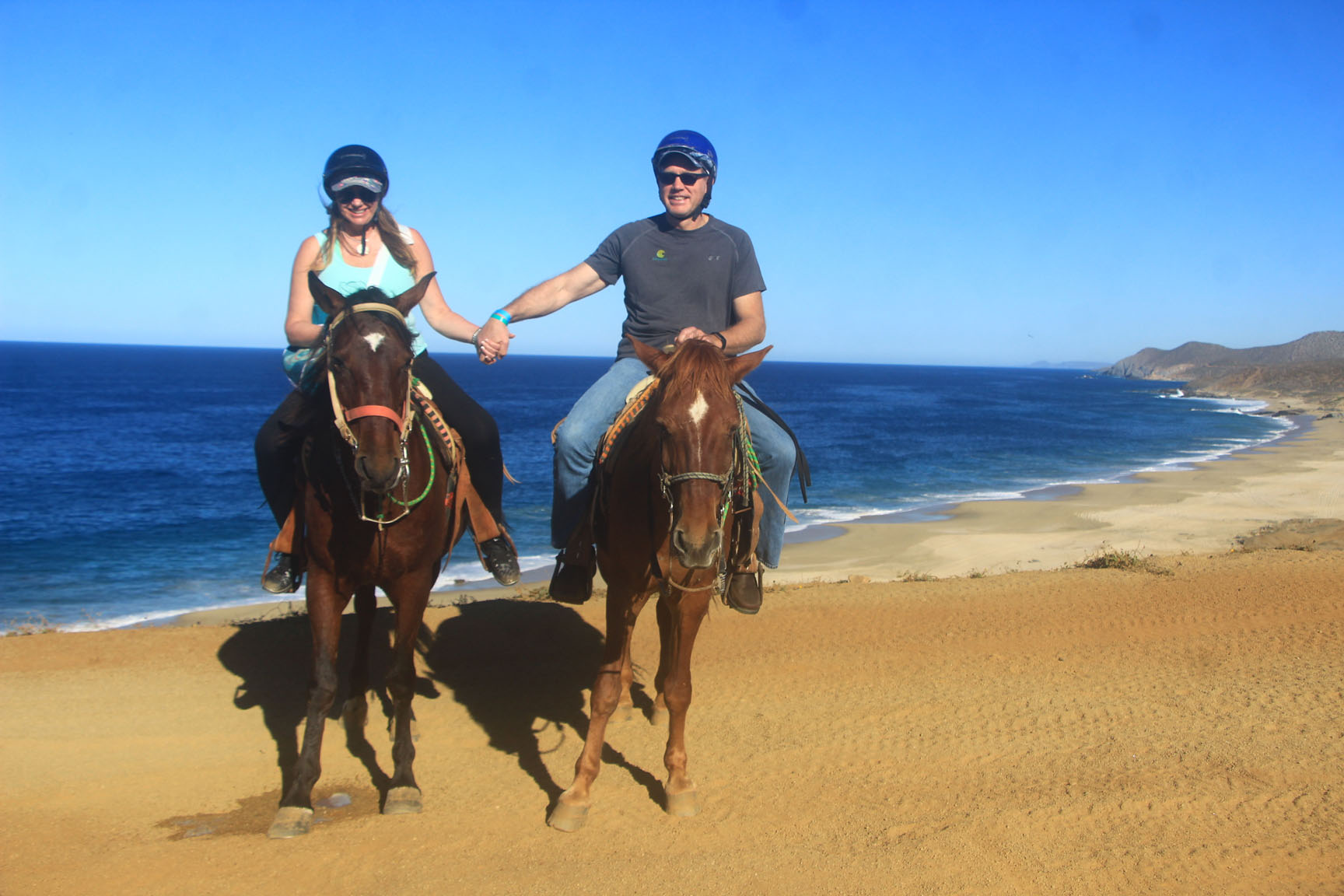 Horseback Riding On The Beach Fun Cabo