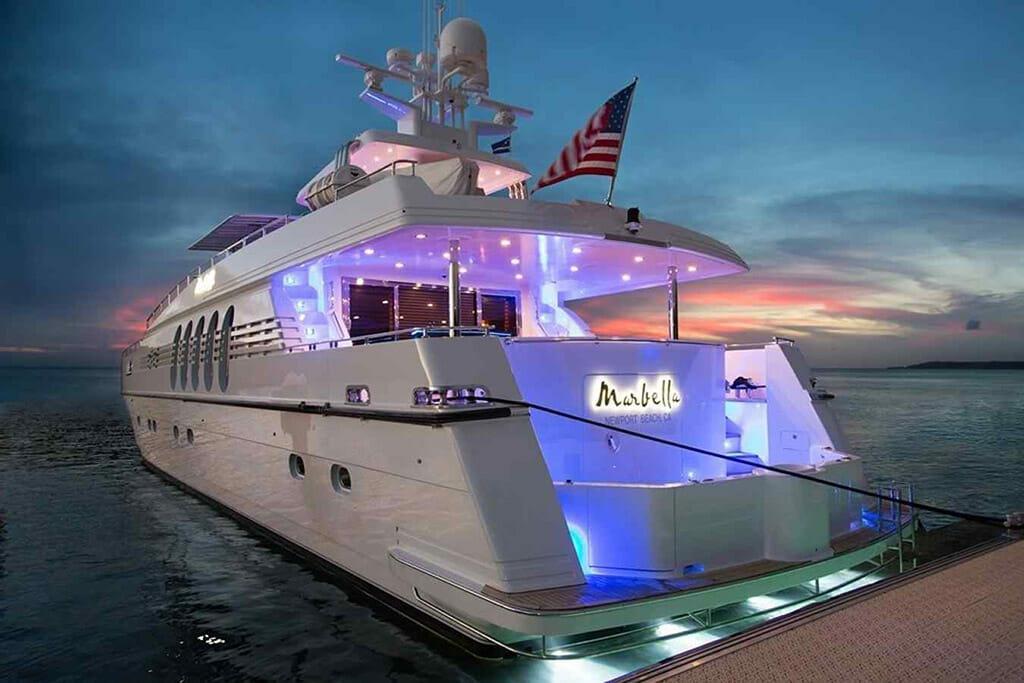 Cabo Yacht Marbella 115'
